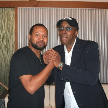 Nate w/Arsenio Hall