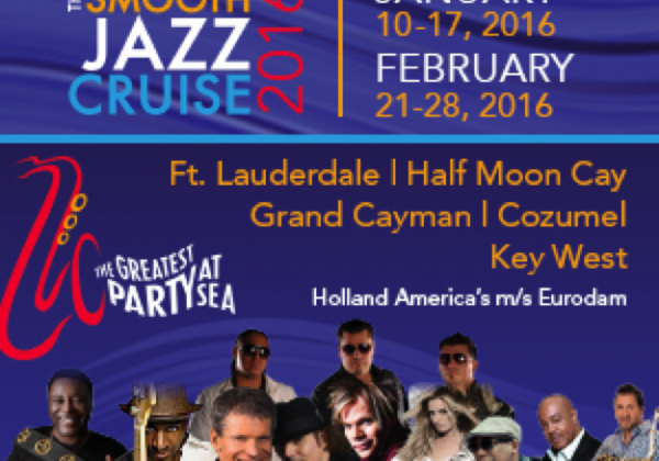 Catch Nathaniel on both Sailings of The Smooth Jazz Cruise