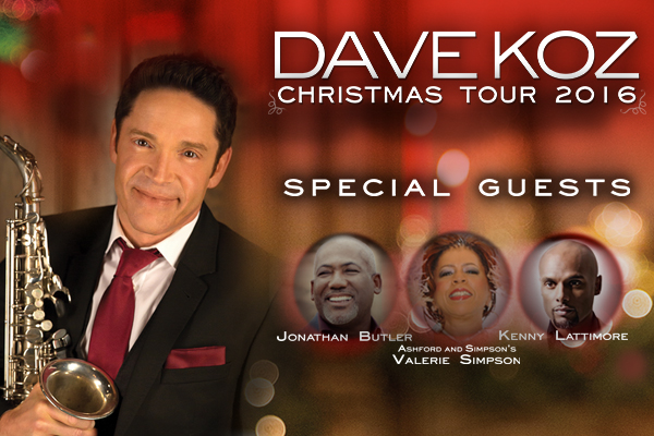 Catch Nathaniel on the Dave Koz & Friends Christmas Tour