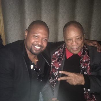 Nate and Quincy Jones