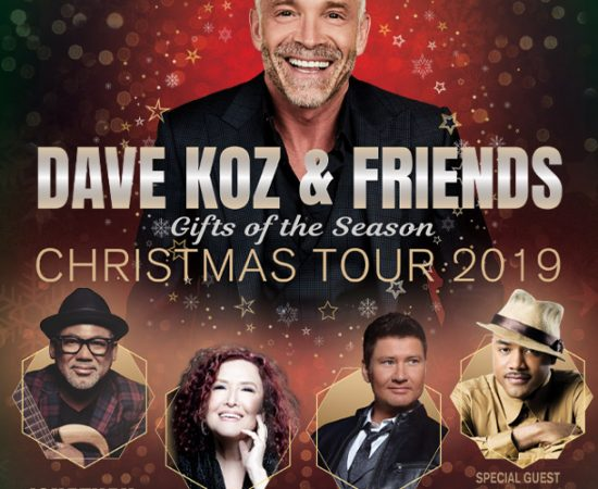 w/Dave Koz & Friends Christmas Tour @ The Cobb Energy Performing Arts Centre