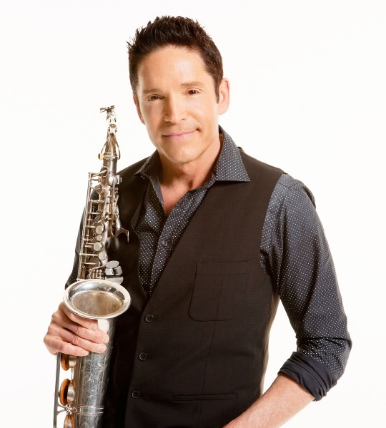 with Dave Koz at Golden Hall