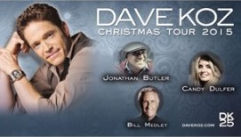 with The Dave Koz & Friends Christmas Tour at The Gallo Center for the Arts