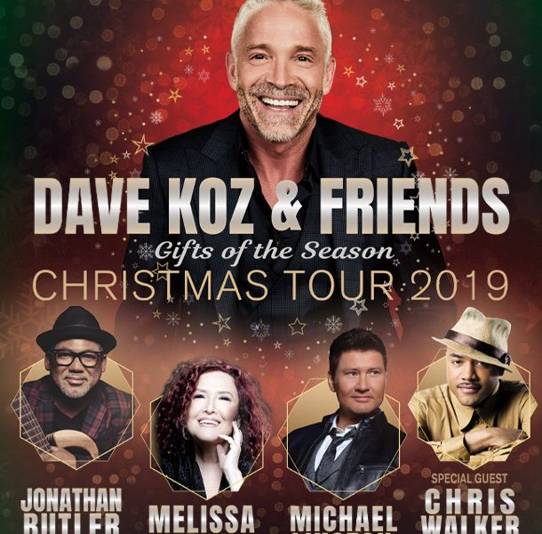 w/Dave Koz & Friends Christmas Tour @ Hayes Hall