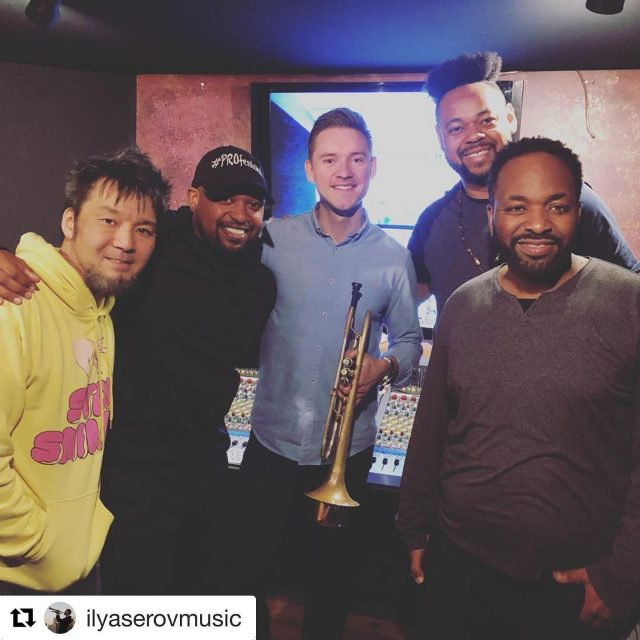 Had a great session with these guys yesterday!  #PROfessional #CERTIFIEDPROfessional #DunlopSuperBrights #BassModsBasses #EichAmps #TCElectronicPedals #MusicAreaCases #JHAudioInEars  #Repost @ilyaserovmusic with @get_repost ・・・ Awesome session for my upcoming album today with these amazing musicians:  @thebassicsolution , @kaytamatsuno , @ericvalentinela , @c_note01 ! Thank you so much guys for being a part of this project!  The new album is coming soon, stay tuned my friends!